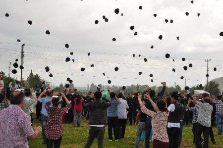 Afyon Polis MYO'da diploma heyecanı