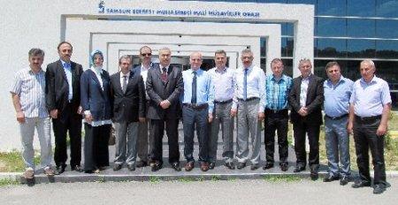 AK Parti Milletvekili Demir, Muhasebeciler Odası'nı ziyaret etti