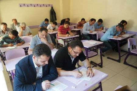 AK Parti Siyaset Akademisi'nde sınav heyecanı