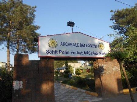 Akçale Sınır Kapısı'nda şehit olan polisin ismi parka verildi