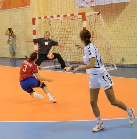 Akdeniz Oyunları hentbol müsabakaları Adana'da başladı