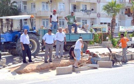Alanya cezaevinde kalan hükümlüler belediyenin işçisi gibi çalışıyor