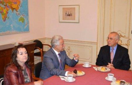 Aldırmaz'ın başkanlığındaki heyet Hollanda'da