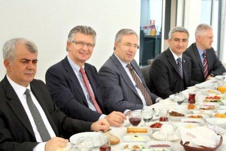 Alman belediye başkanından Bursagaz'a övgü