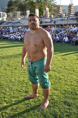 Amasya Karakucak Güreşleri'nde Başpehlivan Ali Rıza Kaya oldu