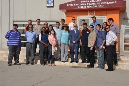 Amerikalı heyetten Bursa AFAD'a ziyaret
