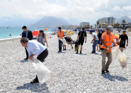 Antalya Büyükşehir Belediyesi'nden çevre seferberliği