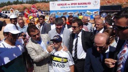 Antalya Stadyumu'nun temeli atıldı