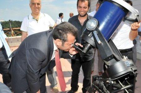Astronomi Öğrenmeme Engel Yok Projesi tanıtıldı