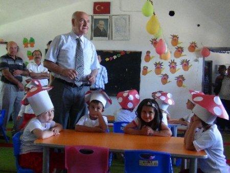 Atıl durumdaki köy okulu onarılarak anaokulu yapıldı