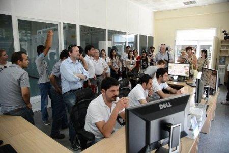 Avrupalı öğrenciler, Adana'da katı atık tesisini inceledi