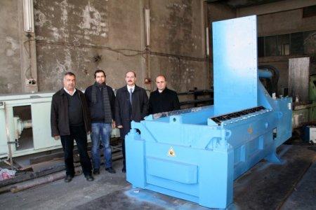 Avrupa'ya Erzincan'dan makine ihraç ediyorlar