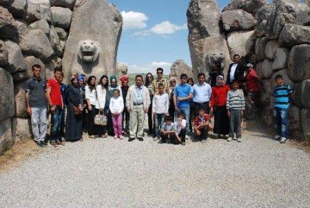 Aydıncık Kaymakamlığı Hami-Yet çocuklarına gezi düzenledi