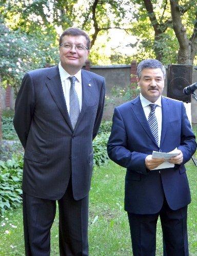 Azerbaycan'ın Cumhuriyet Günü Kiev'de kutlandı