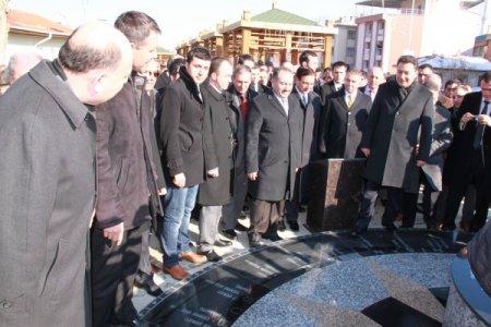 Babacan, Polatlı'da park açılışı yaptı