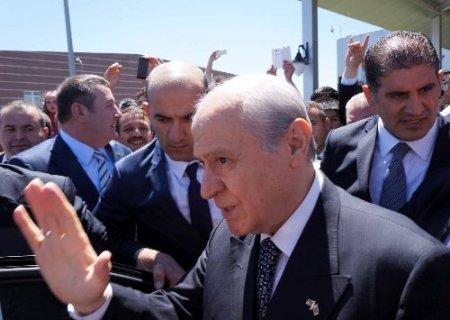 Bahçeli, Erzurum'a geldi