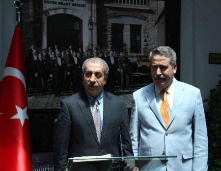 Bakan Eker, Diyarbakır Valisi Kıraç'ı ziyaret etti