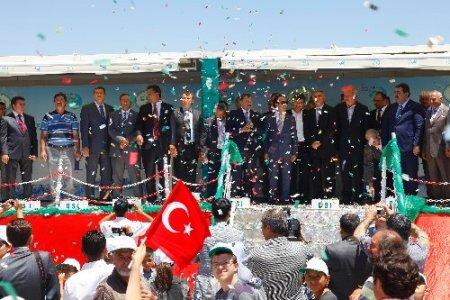 Bakan Eroğlu, Afyonkarahisar'da 4 tesisin temelini attı