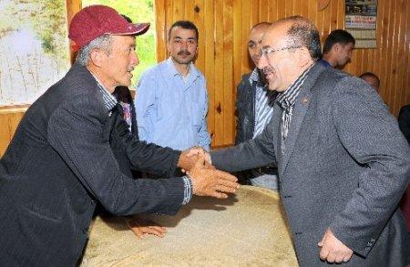 Bakan Gümrükçüoğlu'ndan, turizm projesine destek sözü