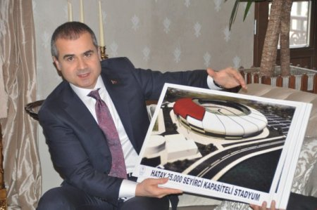 Bakan Kılıç: 2013 spor yatırımlarının önemli kısmını Hatay'a ayırdık