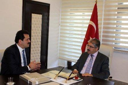 BAKİAD'dan Vali Ali Çınar'a hayırlı olsun ziyareti