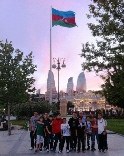 Bakü'de Yamanlar rüzgârı esti