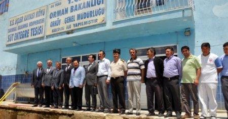 Balkanlıoğalu, 104 köylünün ortak kurduğu süt tesisini inceledi