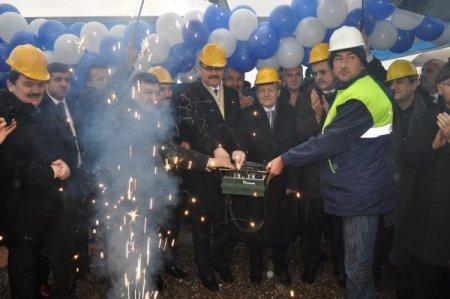 Bandırma Zümrüt Koleji'nin yeni binasının temeli atıldı