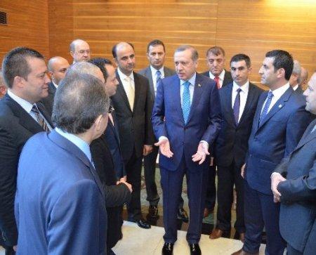 Başbakan Erdoğan ile görüşen genç başkanlar sağduyu çağrısında bulundu