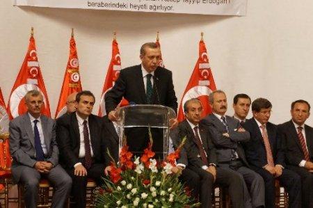 Başbakan Erdoğan'a Tunus'un anahtarı verildi