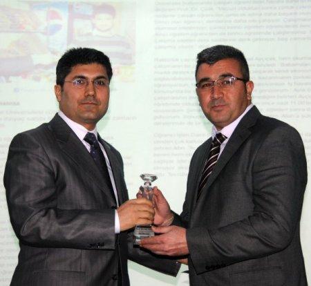'Basın Onur Ödülleri' sahiplerine verildi
