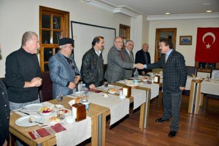 Başkan Arpacıoğlu muhtarlarla 2012 yılını değerlendirdi
