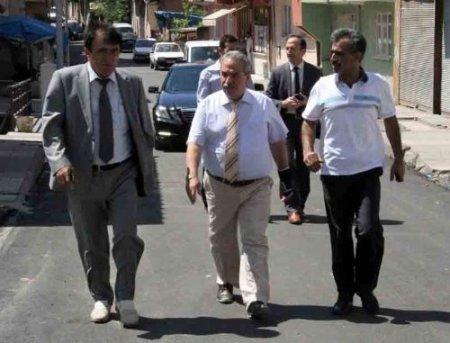 Başkan Demirtaş, çalışmaları yerinde inceliyor