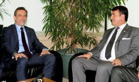 Başkan Dündar, BTSO yönetimini ziyaret etti