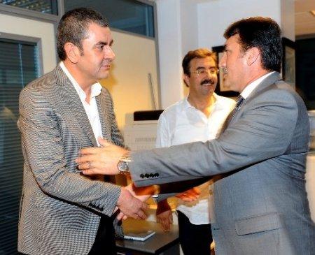 Başkan Dündar'dan Bursaspor yönetimine ziyaret