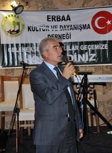 Başkan Yenihan, İstanbul Erbaalılar gecesine katıldı