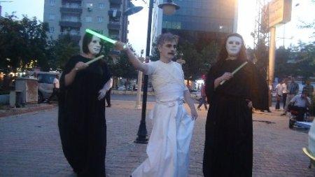 Batmanlılar geleneksel Japon dansı 'Butoh' ile tanıştı