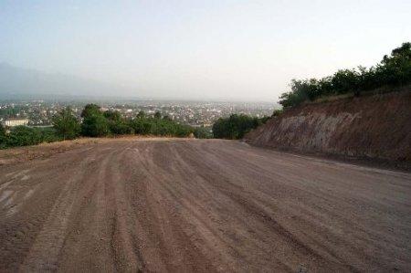 Bayraktepe'ye alternatif yol yapılıyor