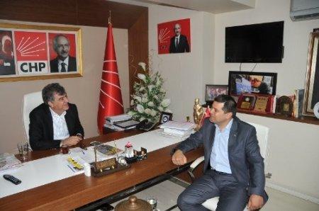 BBP İl Başkanı Bereket, CHP İl Başkanı'nı ziyaret etti