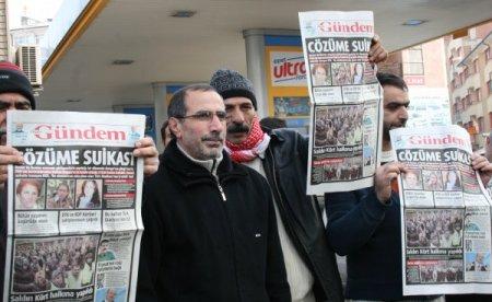 BDP'liler Paris cinayetlerini protesto etti