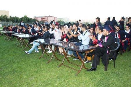 Beden Eğitimi ve Spor Yüksekokulu 200 öğrenci mezun etti