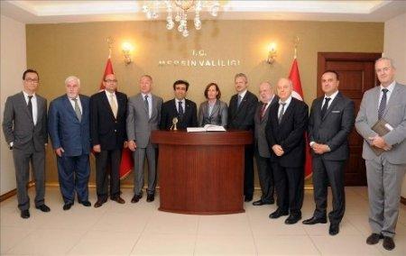 Belçika ve Lüksemburg büyükelçilerinden Mersin'e övgü