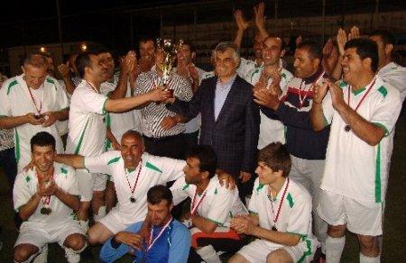 Belediye Birimler Arası Futbol Turnuvası sona erdi