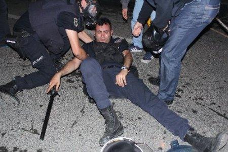 Beşiktaş'ta 'Gezi Park' eylemleri: 1 polis yaralandı, çok sayıda gözaltı var