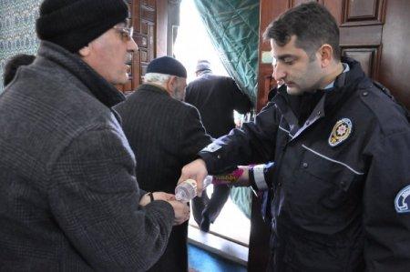 Bingöl'de şehit olan polis memurları için mevlid okundu