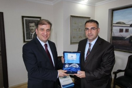 Bölge İdare Mahkemesi Başkanı Güler'den Başkan Cengiz'e veda ziyareti