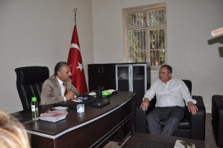 Bolu Belediye Başkanı Alaaddin Yılmaz Reyhanlı'da