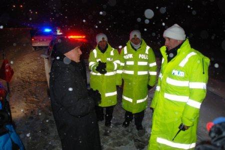 Bolu Valisi Özçimen, karla mücadele çalışmalarını inceledi