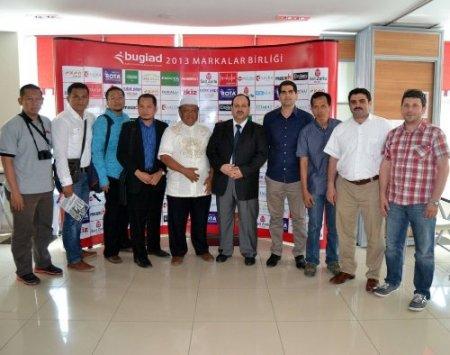 BUGİAD Endonezyalı iş heyetini ağırladı