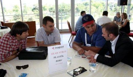 BUGİAD üyeleri, Kırgız işadamları ile iş görüşmeleri yaptı